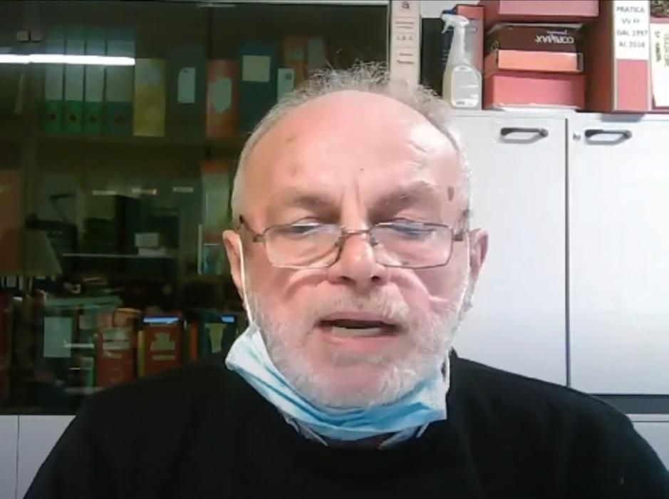 Antonio Aldrighetti presidente Ronda della Carità Verona